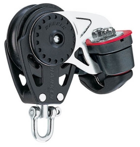 Harken Carbo Blok 57mm enk/svl/Cam-Matic